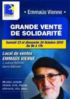 Emmaus grande vente de solidarit vienne brocante 38 for Emmaus salon de provence