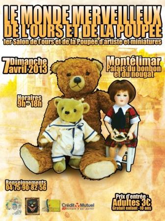 Salon de l 39 ours la poup e d 39 artiste miniatures et maisons - Le salon montelimar ...
