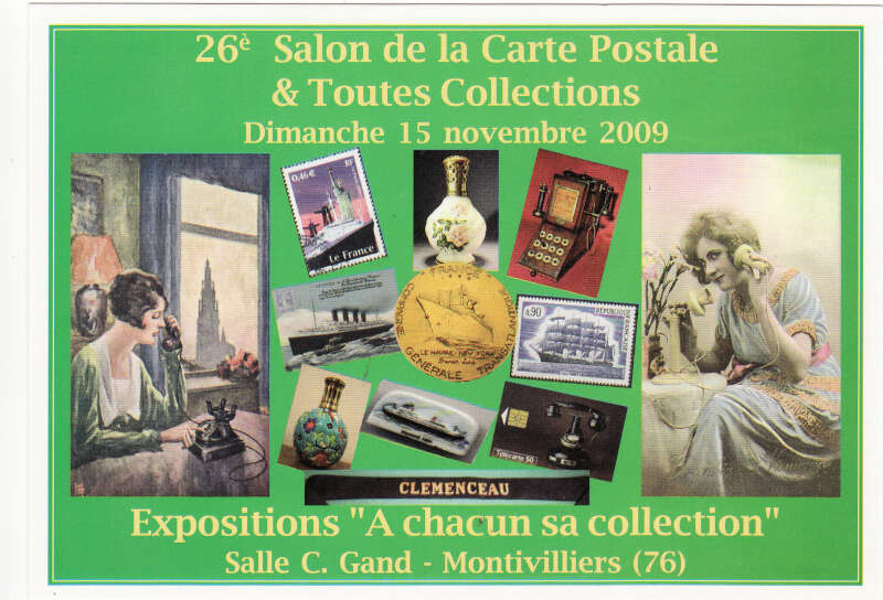 26 me salon de la carte postale toutes collections for Salon carte postale