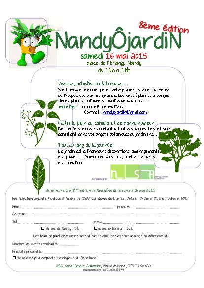 Nandy jardin vide jardin troc des plantes nandy vide for Vide jardin tremeoc 2015