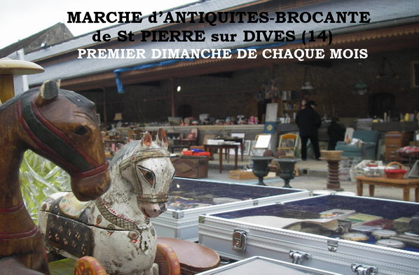 March d 39 antiquit s brocante de saint pierre sur dives saint pierre sur - Marche saint pierre adresse ...